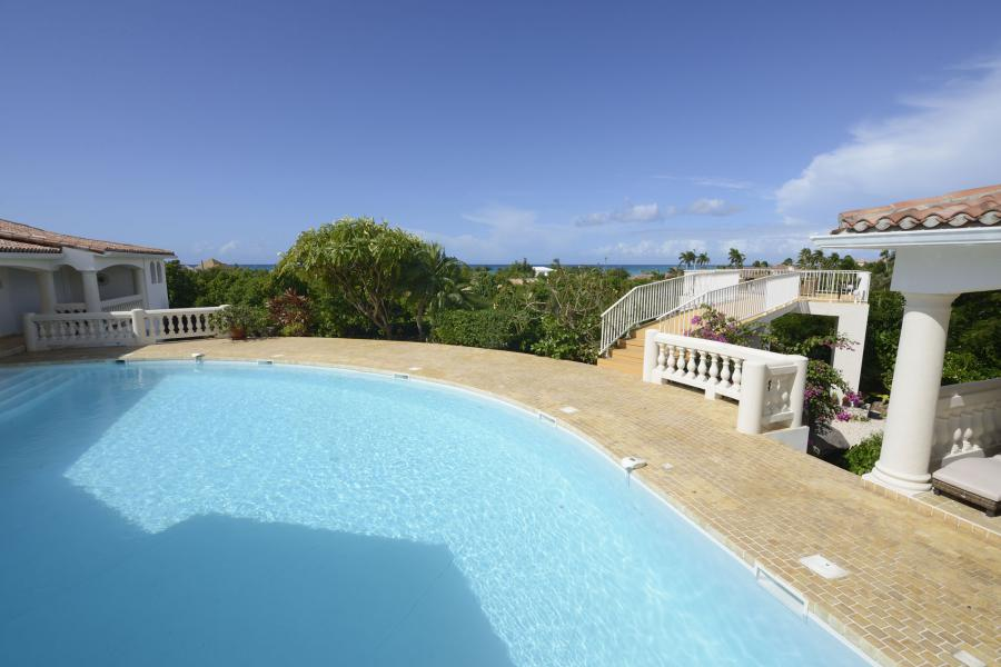 villa Jasmin st.Martin -swimming pool